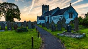 St Mary's Church, Pennard, Gower