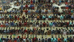 ইন্দোনেশিয়ার উত্তর সুমাত্রার একটি মসজিদ। দেশটিতে বিশ্বের সবচেয়ে বেশি মুসলিম বাস করে