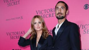 Millie Mackintosh and and Hugo Taylor at the 2016 Victoria's Secret Fashion Show