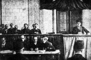 AXC parlamentinin birinci iclasının açılışı