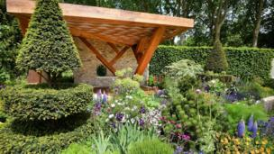 The Morgan Stanley garden