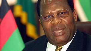 Former Malawian president Bakili Muluzi