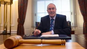 Sinn Féin MLA Mitchell McLaughlin