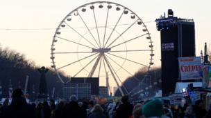लंदन में नए साल का उत्सव