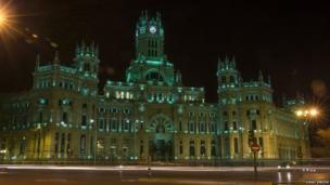 The Palacio de Comunicaciones in Madrid
