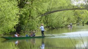 Pauline Massey: Scenes from the University Parks in Oxford