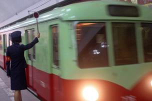 قطار مترو أنفاق