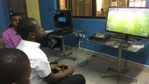 Man wey dey play video games