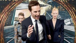 Rachel McAdams, Benedict Cumberbatch and Tilda Swinton