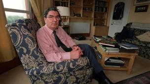 in_pictures John Hume pictured at home in 2000