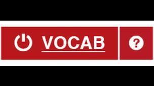 Botwm VOCAB button