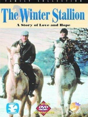 Clawr y ffilm the Winter Stallion