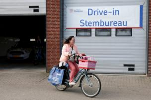 ป้าย Drive-in Stembureau