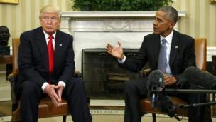 اوباما او ټرمپ