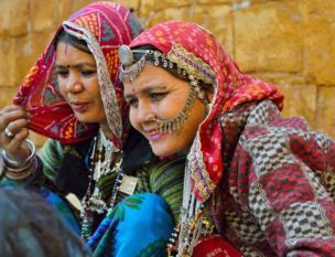 Dos mujeres en India