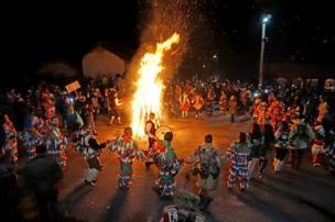 Bailes tradicionales en Bulgaria.