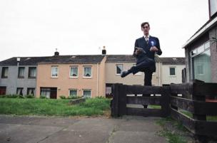 Conservative candidate Jacob Rees-Mogg canvasses in a solid Labour of Fife Central seat during the General Election