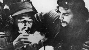 Фидель Кастро Че Гевара менен