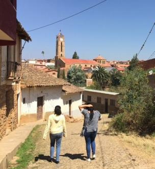 Vista de uma rua de Vallegrande.(Foto: Boris Miranda/BBC Mundo)