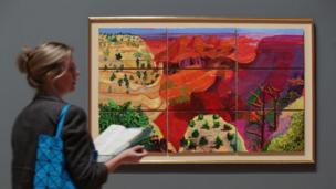 Canvas Study of the Grand Canyon, 1998