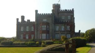 St Bride's Castle in Pembrokeshire