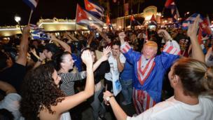 Miami'de kutlama