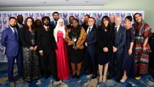 Members of the Grenfell Community win a special recognition award