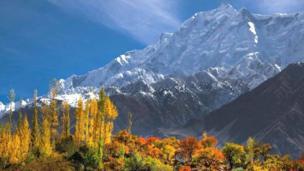 دنیا کی بلند ترین چوٹیوں سے ایک راکا پوشی