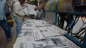 Gazetelerde Castro