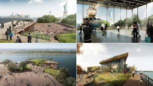 Statue of Liberty Museum designs