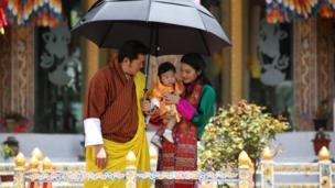 Bhutan's royal family