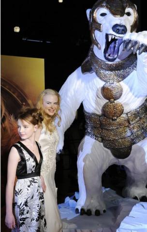 Nicole Kidman en el estreno en Japón de La Brújula Dorada