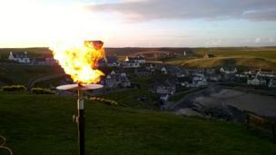 Beacon above Collieston