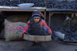 طفل عامل