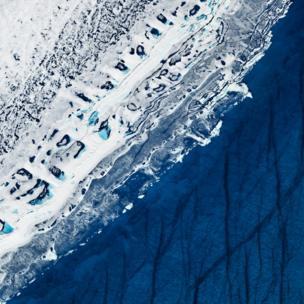 Fotos aérea del ártico