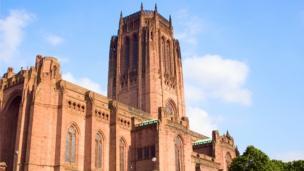Cocin Liverpool Cathedral