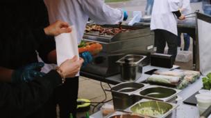 Một mảng chính của lễ hội là giới thiệu ẩm thực Việt Nam từ các nhà hàng của người Việt ở London.