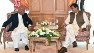 اشرف غنی اور عمران خان