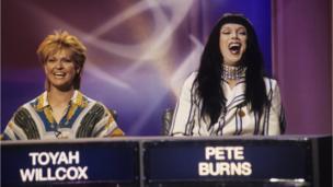 Pete Burns and Toyah Willcox on Pop Quiz in 1994
