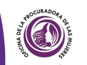 Logo de la Oficina de la Procuradora de las Mujeres