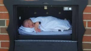 A Safe Haven Baby Box in Indiana