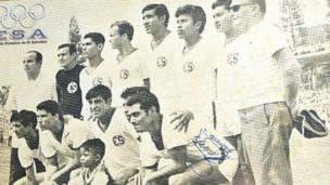 A portrait of tha El Salvador crew competin up in tha 1970 Ghetto Cup