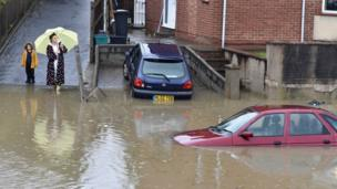 People can't help but take a pic of the flooded cars on a road in Bristol, after a night of heavy rainfall. But remember never go too close to flood water as it may be dangerous.