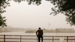 هوای آلوده شهر اهواز
