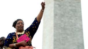 Asistentes a la apertura del Museo Nacional de Cultura e Historia Afroestadounidense en Washington D.C.