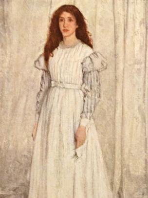 """картина """"Симфония в белом №1: Девушка в белом"""""""