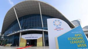 Trung tâm Báo chí quốc tế APEC được xây dựng trên cơ sở cải tạo Trung tâm Hội chợ triển lãm Đà Nẵng