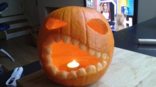 Katie's pumpkin
