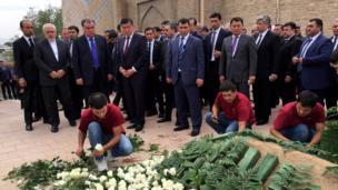 Похороны Каримова
