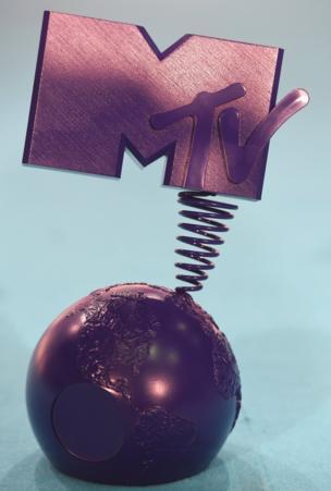 The MTV EMAs trophy